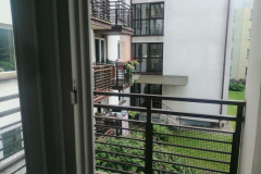 Вид на балкон
